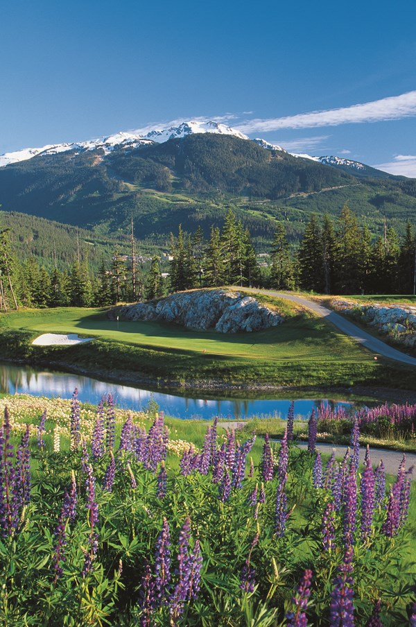 Fairmont Chateau Whistler- hole 8