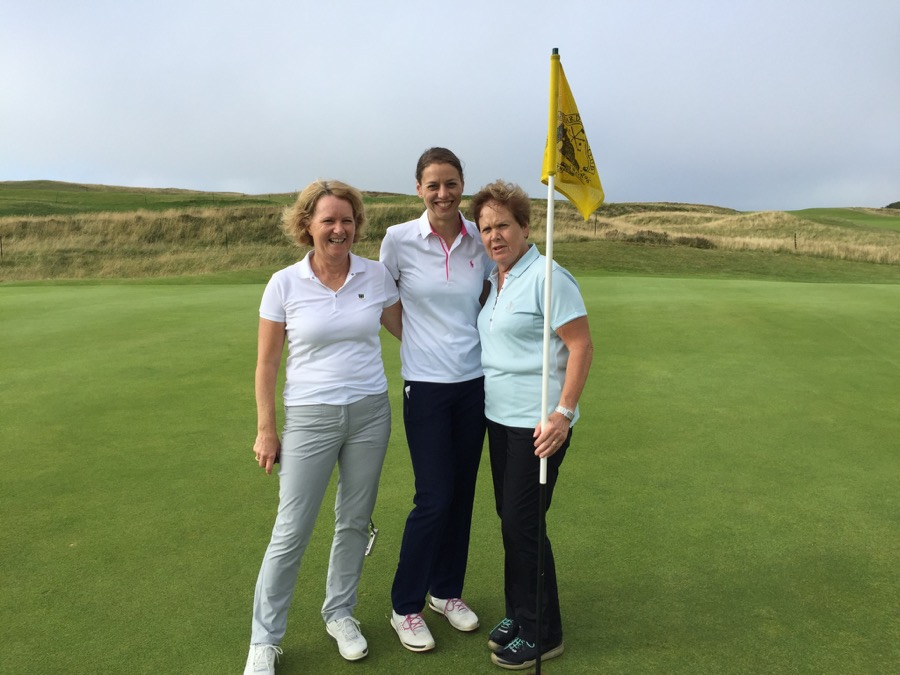 Pennard GC, Wales- 3 gorgeous ladies!