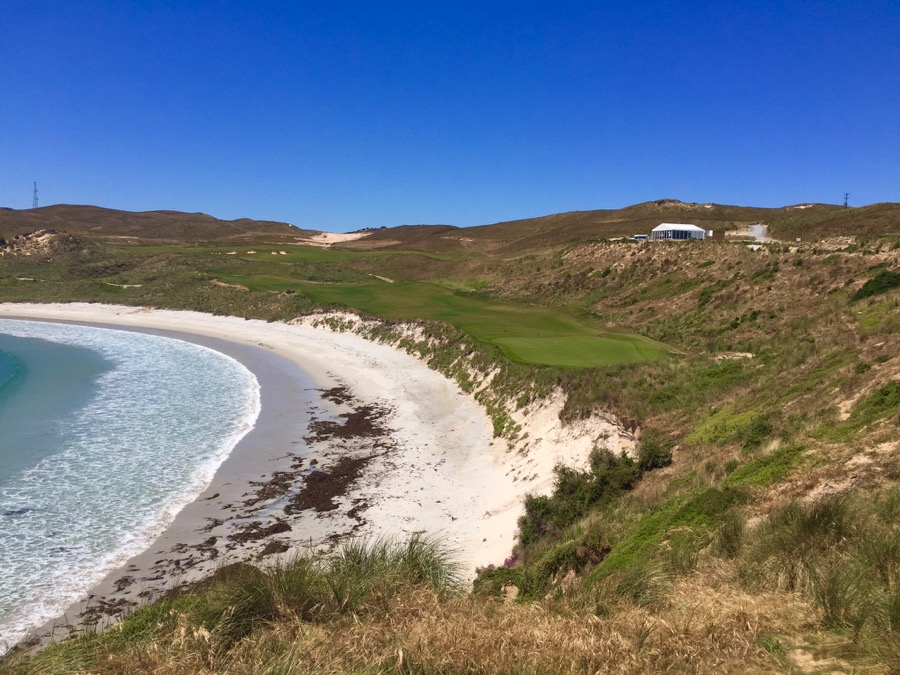 Cape Wickham Links- hole 18