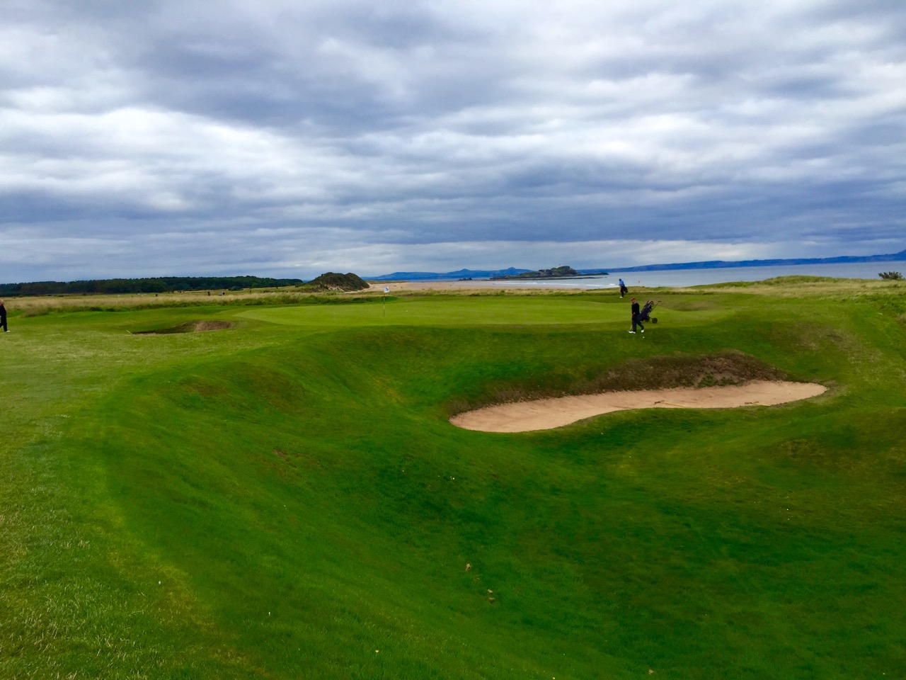 North Berwick Golf Links, East Lothian- hole 5