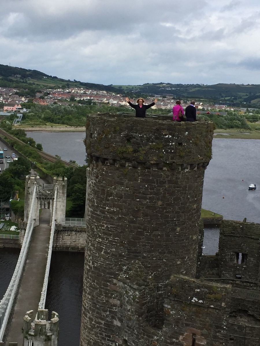 Conwy Castle, Wales- the princess in the tower