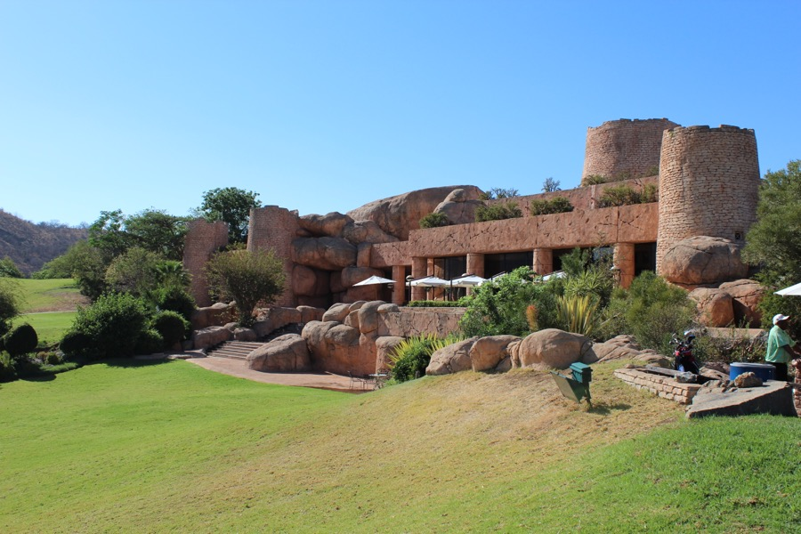The clubhouse at Lost City GC, Sun City