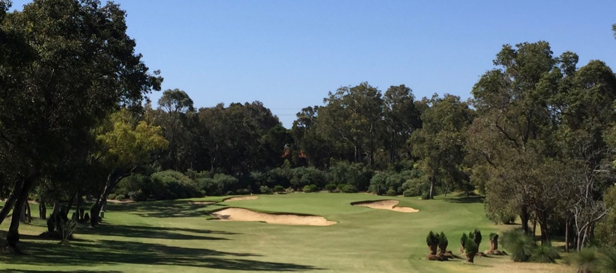 Lake Karinyup CC-  hole 17