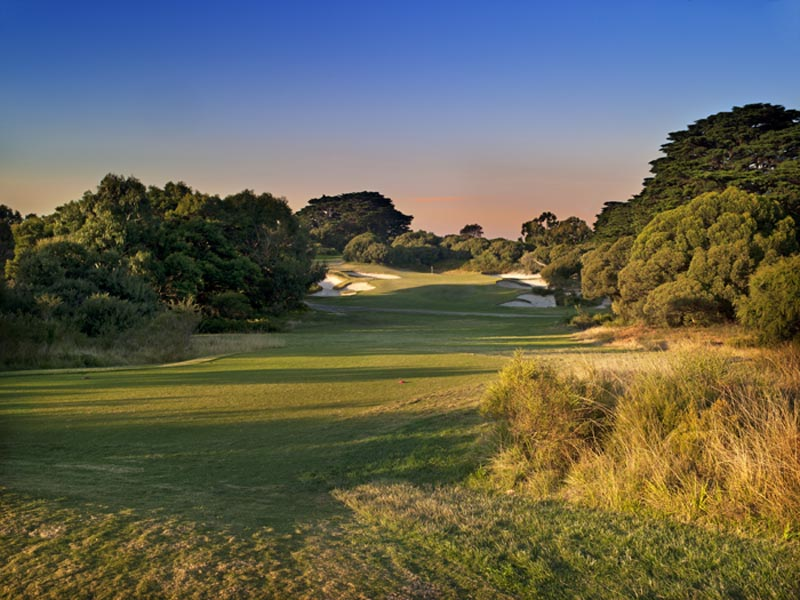 Royal Melbourne West Course Hole 5