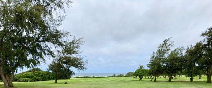 Wailua GC-  hole 1