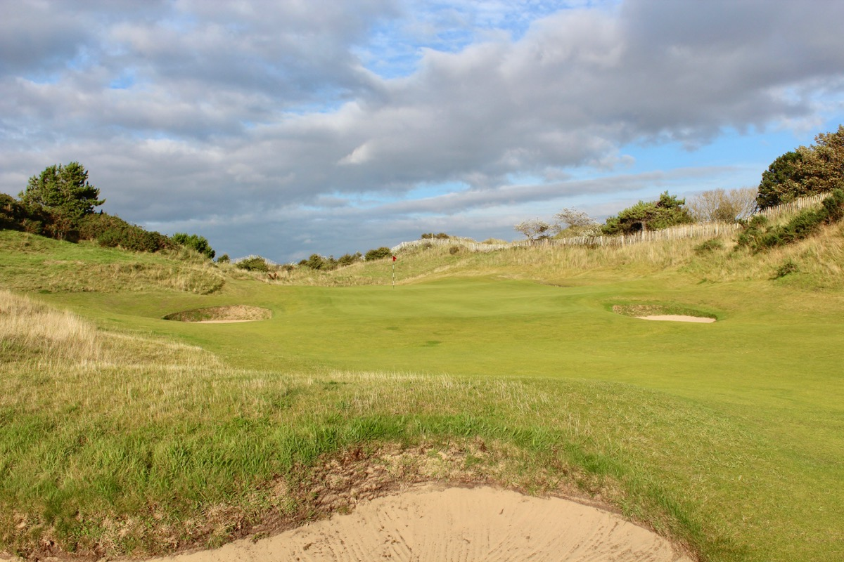 Royal Birkdale hole 17