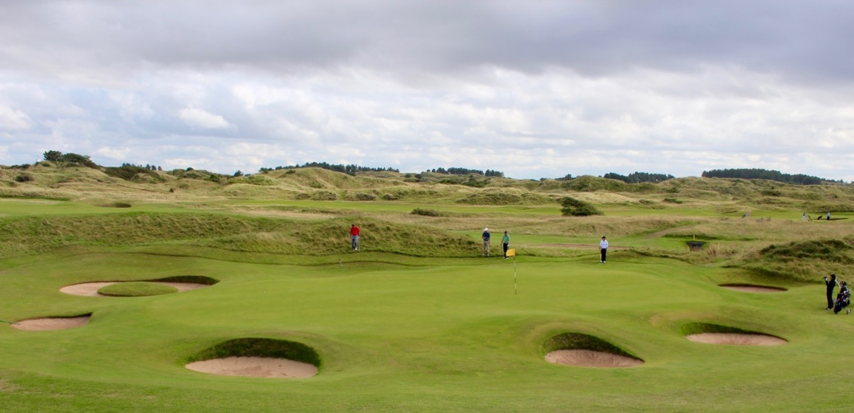 Royal Birkdale GC- the par 3 7th hole