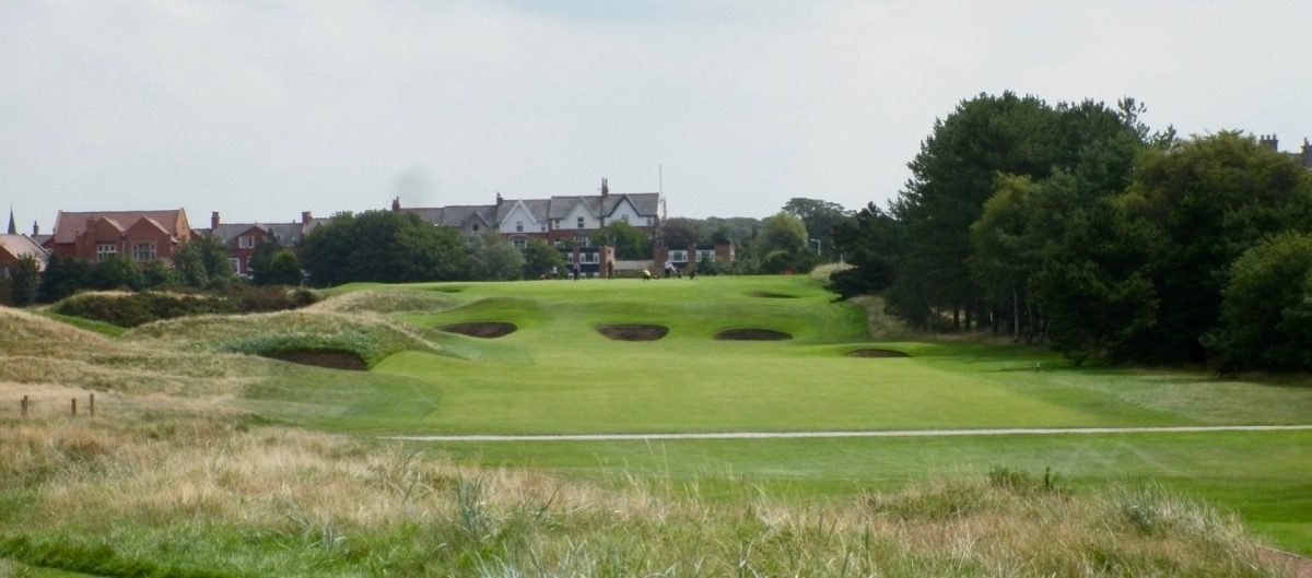 Royal Lytham & St Annes GC-  hole 8