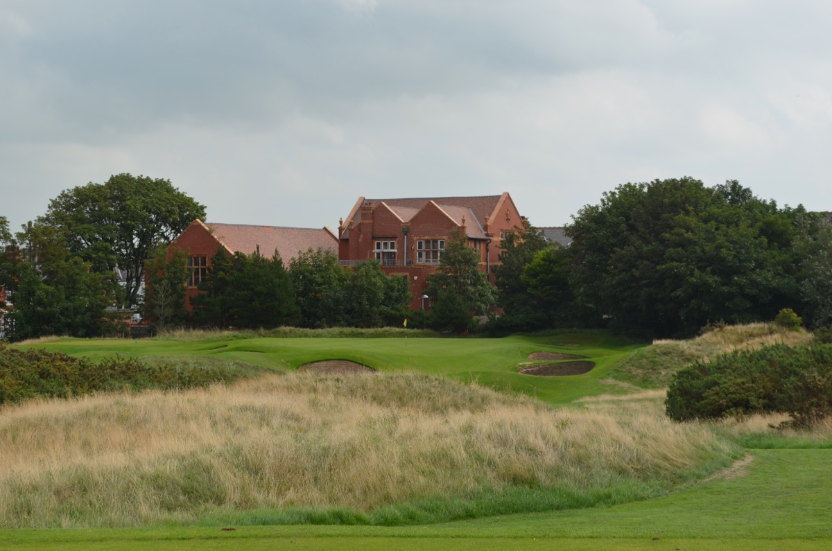 Royal Lytham st Annes GC hole 9