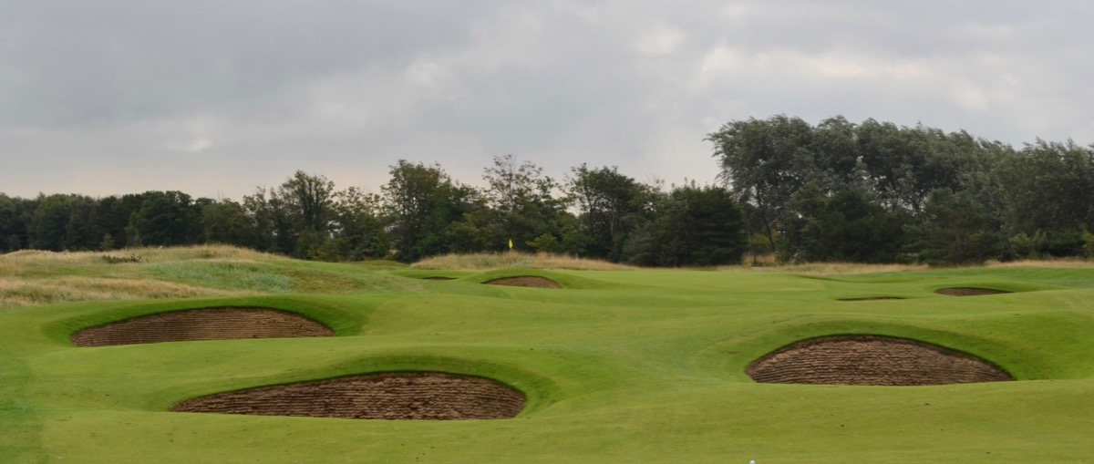 Royal Lytham & St Annes GC- bunkers bunkers everywhere!