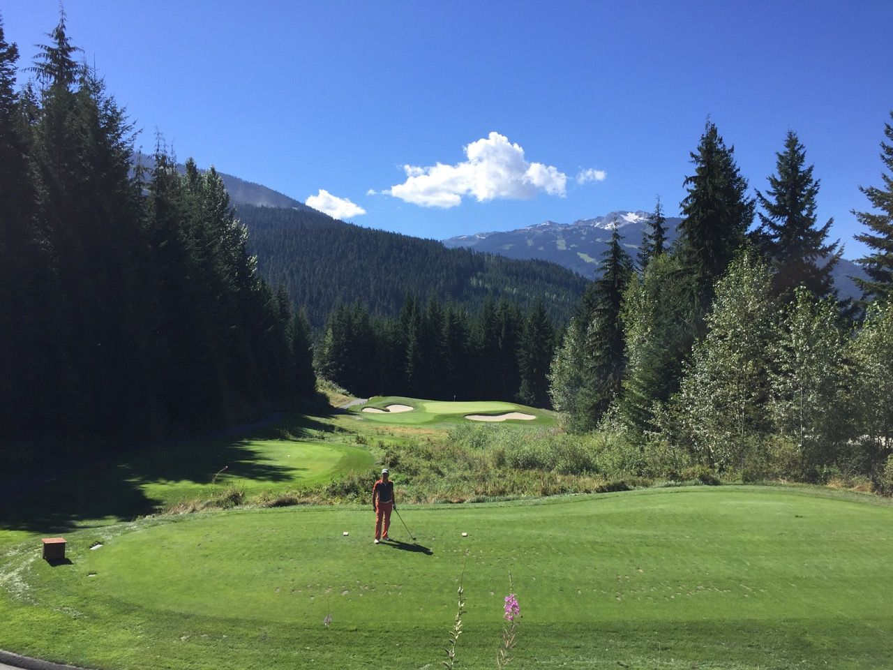 Chateau Whistler Golf Course- hole 5