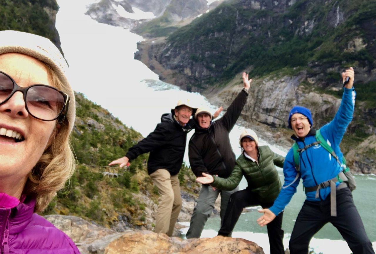 Fun at Serrano Glacier