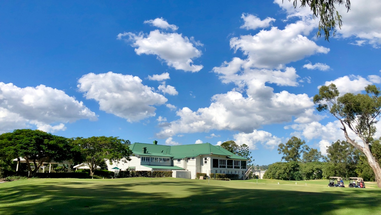Brisbane GC clubhouse