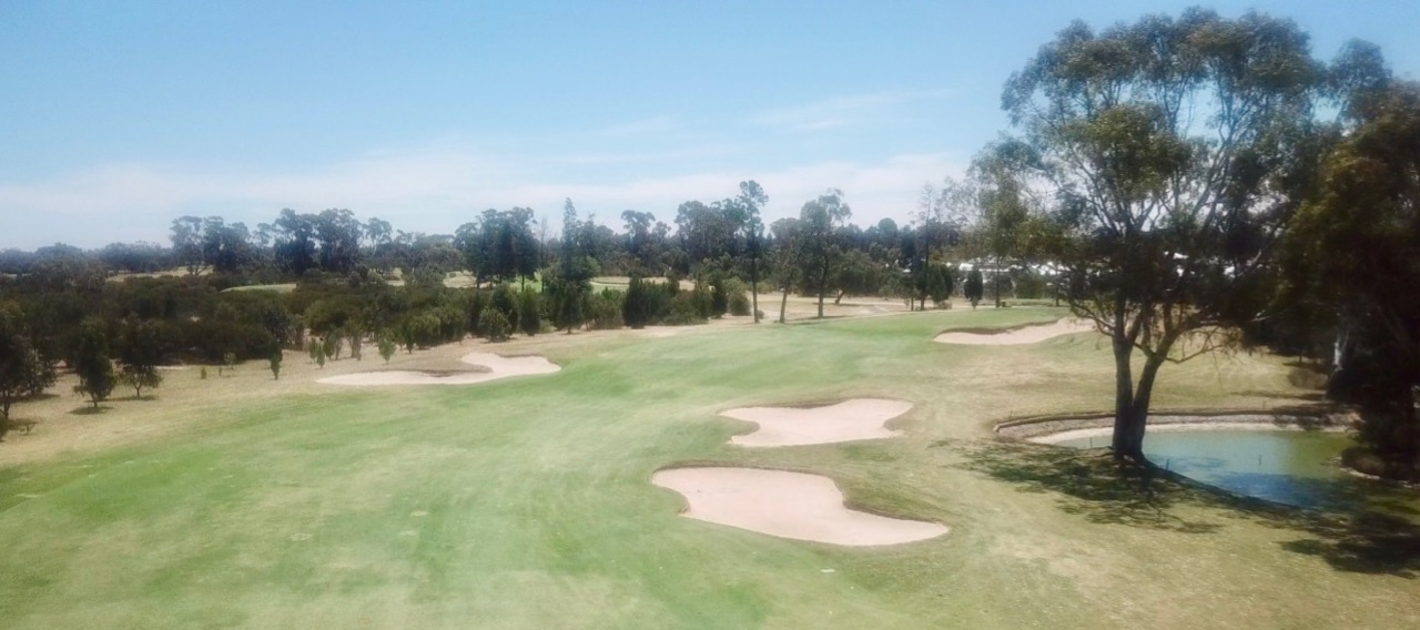 Horsham GC- hole 1