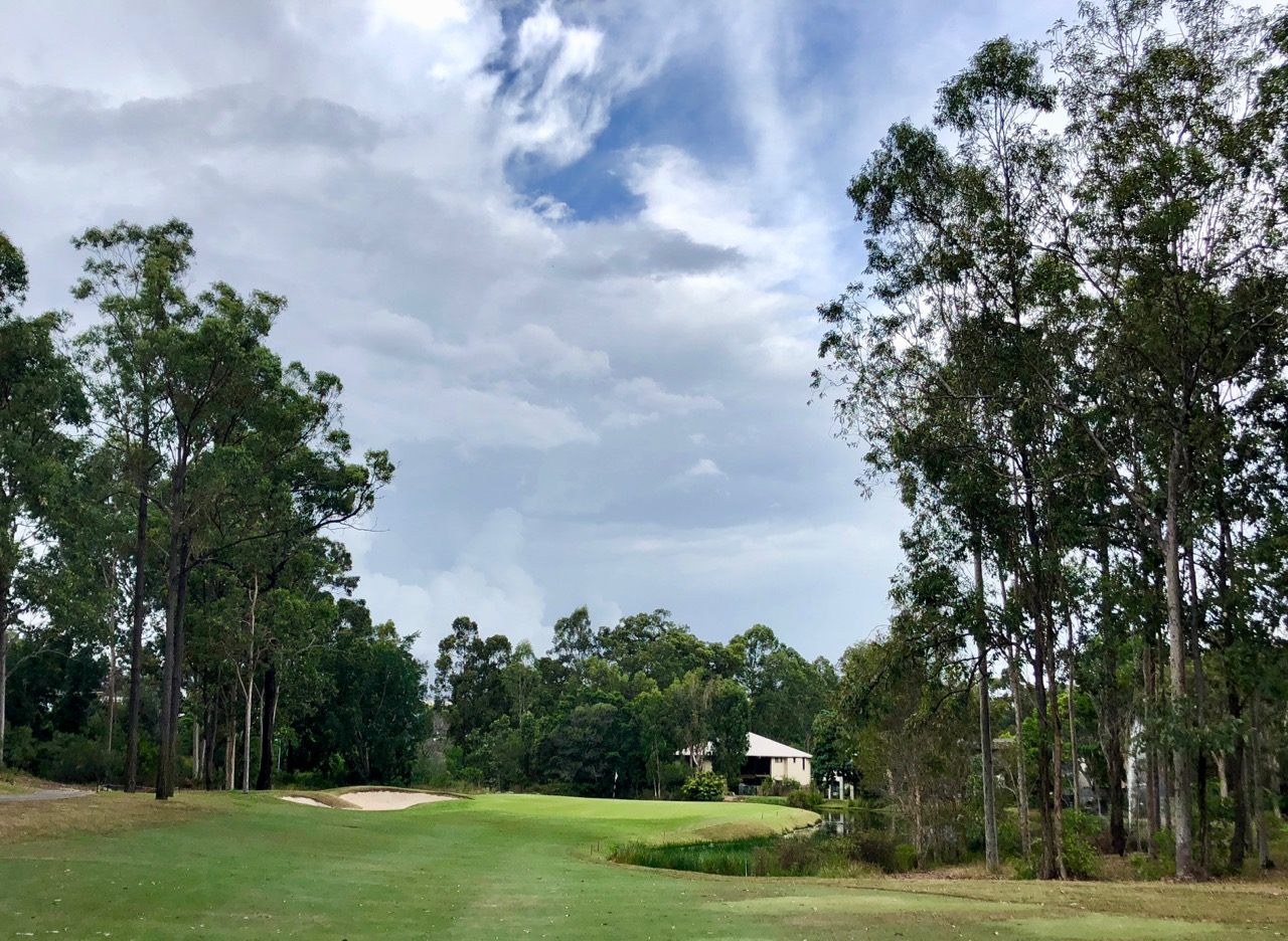 Brookwater GC- hole 11