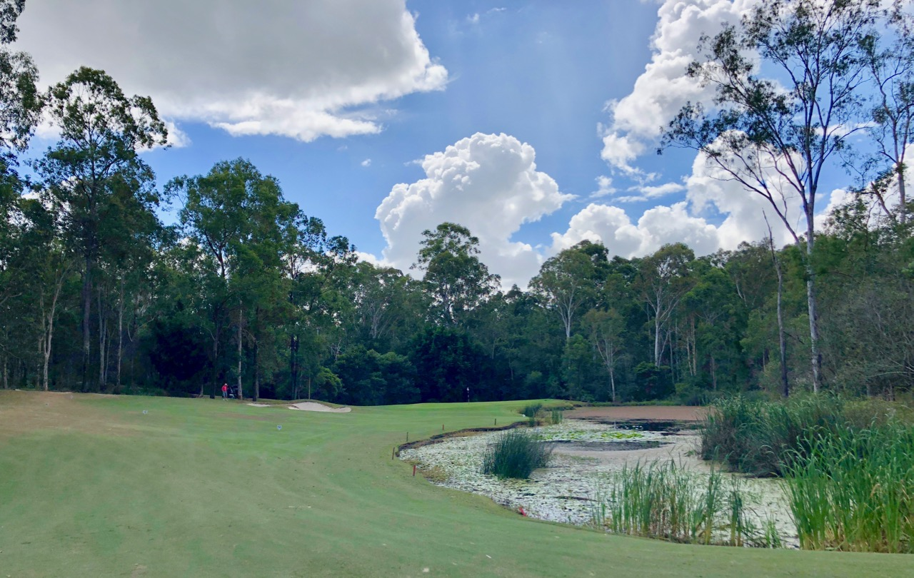 Brookwater GC- hole 6