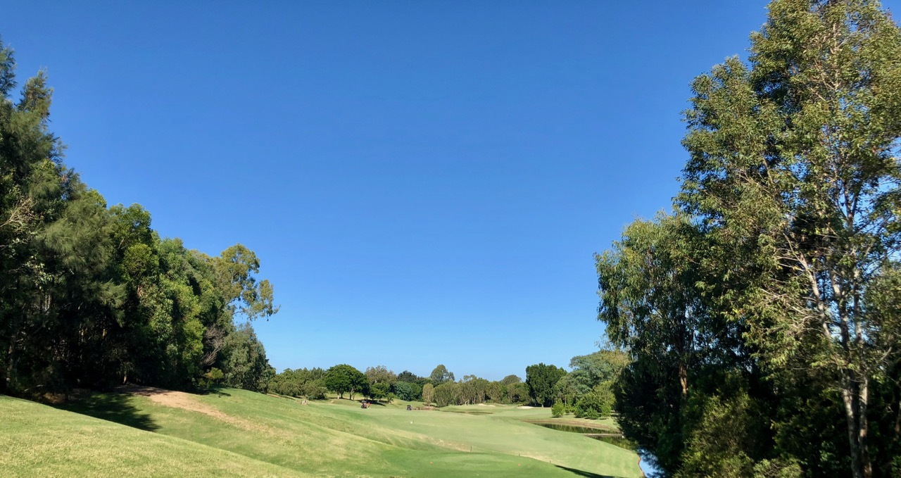 Indooroopilly GC- hole 7