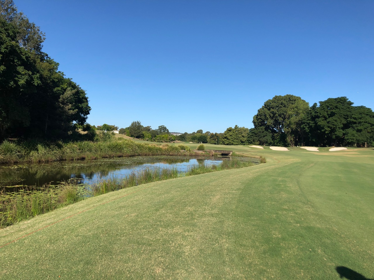 Indooroopilly GC-  Red-  hole 9