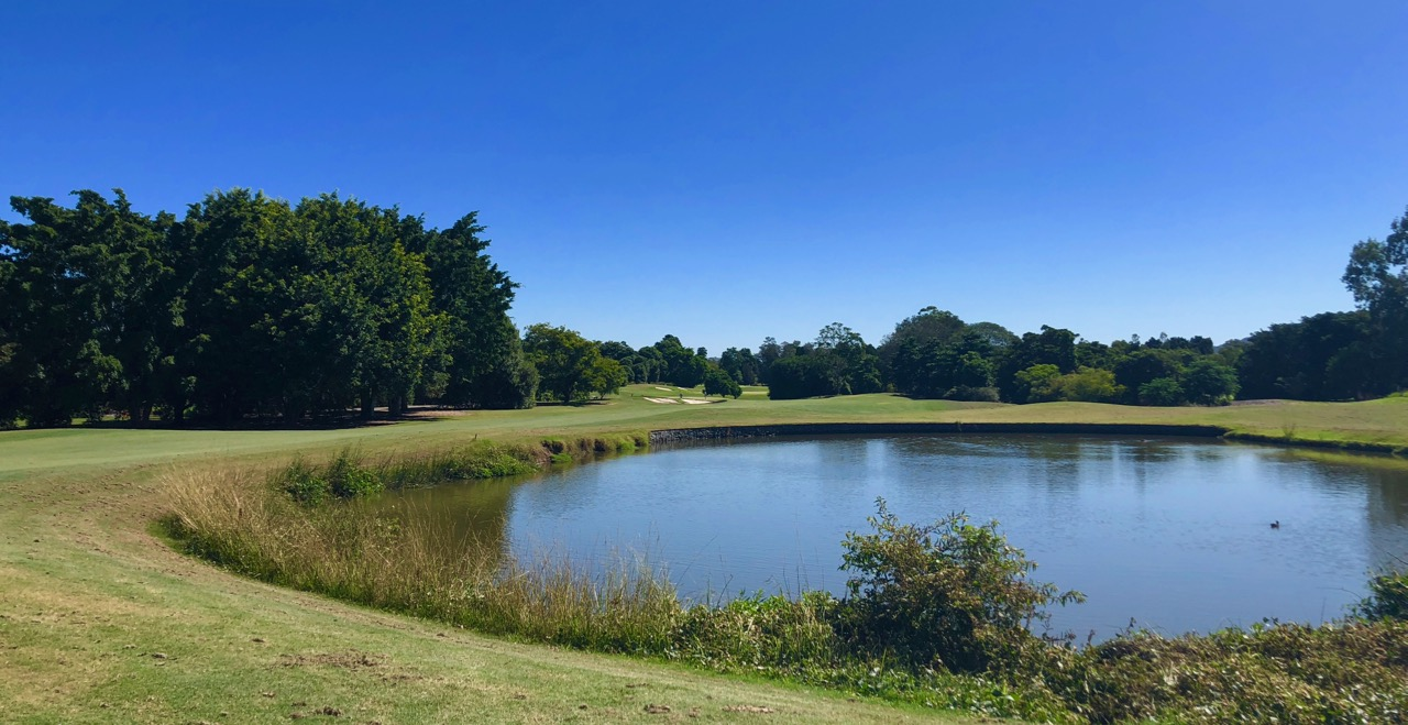 Indooroopilly GC- hole 1