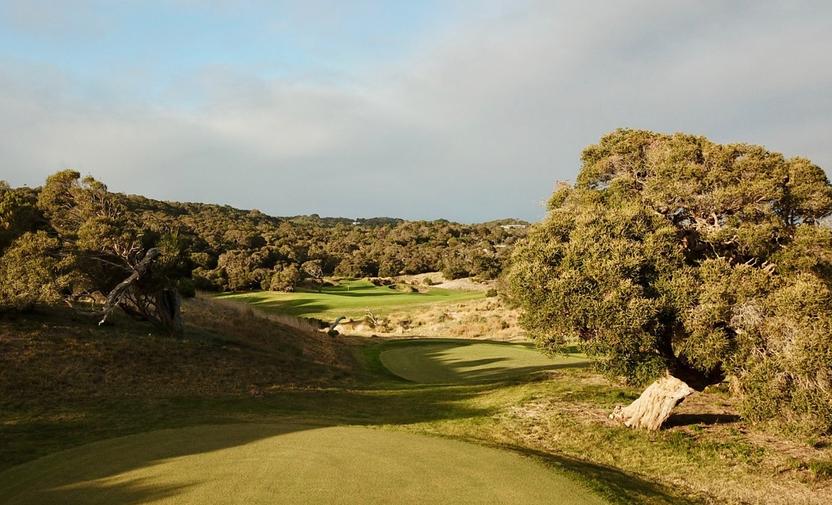 The National GC- Moonah course- hole 17