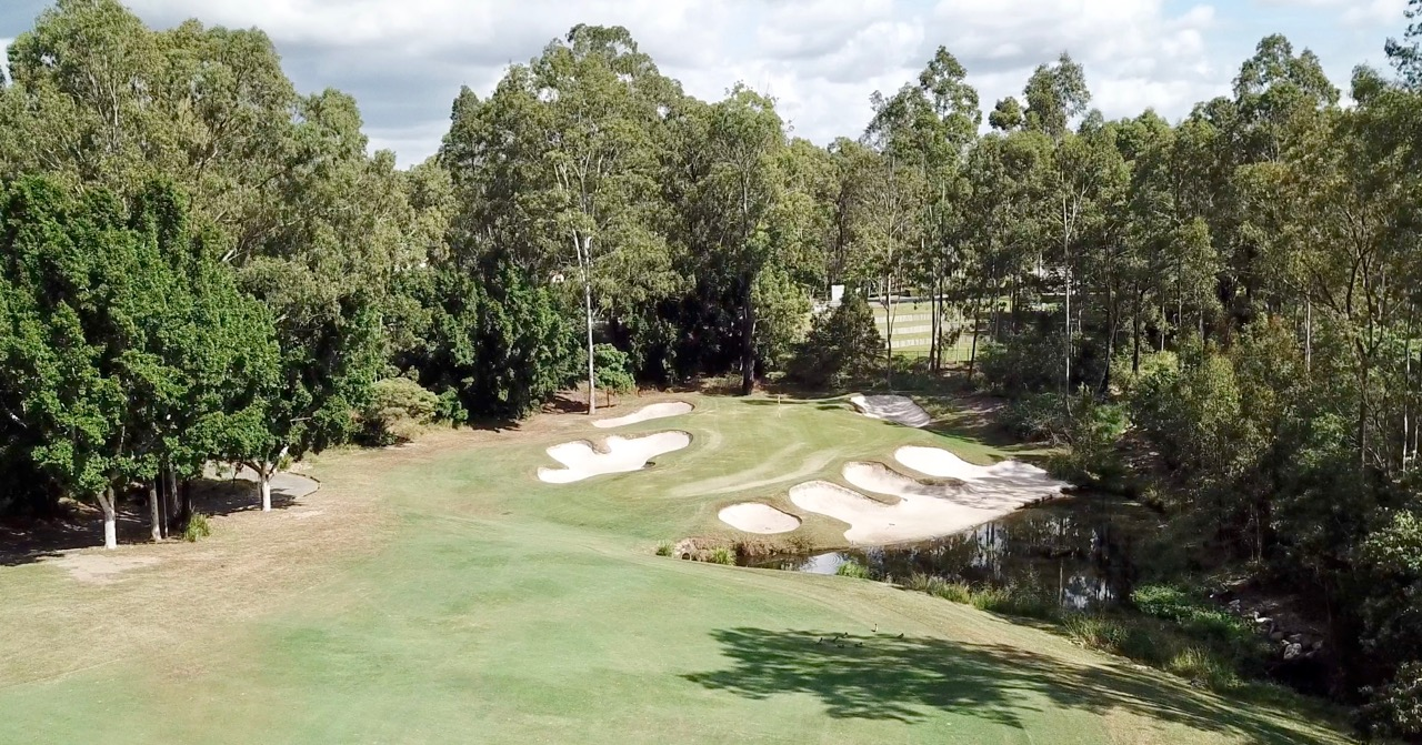 Brookwater GC- hole 17