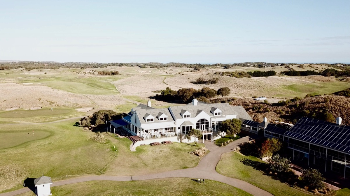 The Dunes Golf Links clubhouse