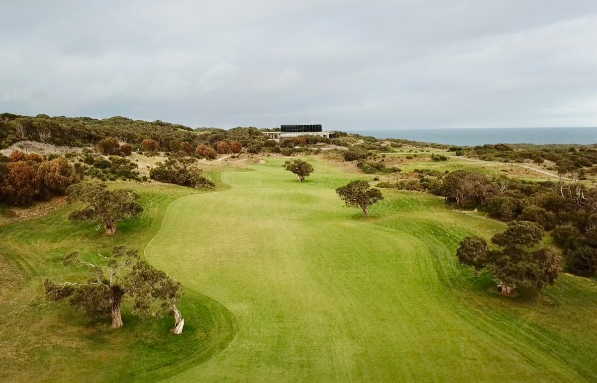 The National GC: Moonah Course- hole 18