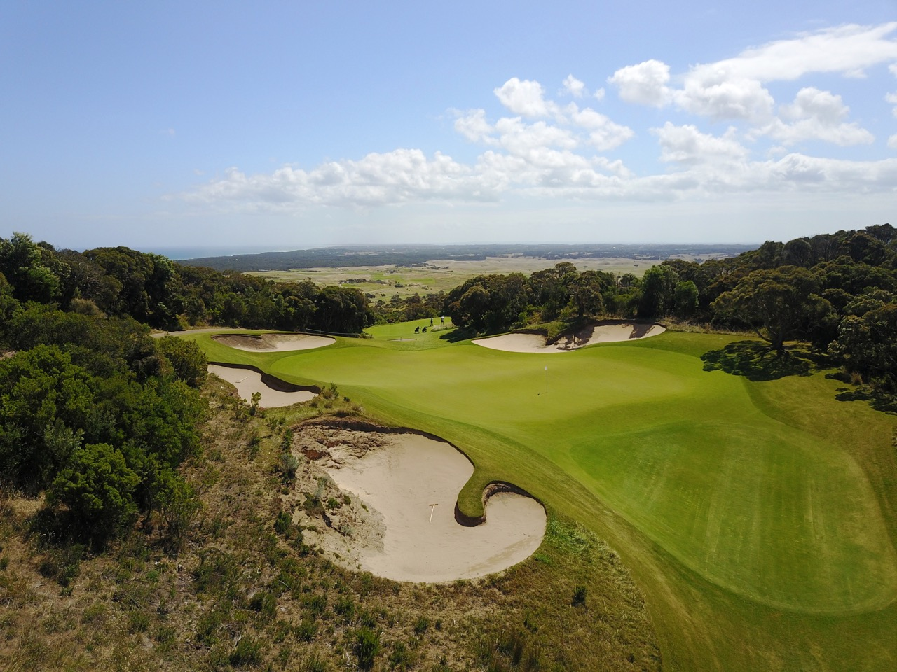 The National Golf Club- Old Course- hole 16