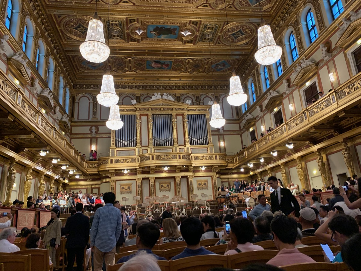 Waiting for The Vienna Mozart Orchestra