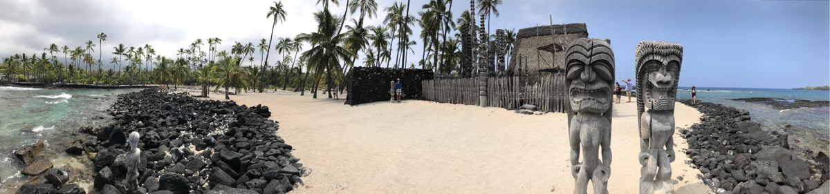 Historic Hawaiian site on The Big Island
