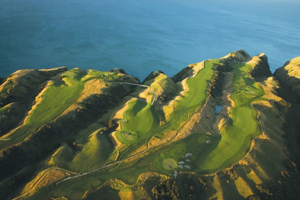Cape Kidnappers Aerial