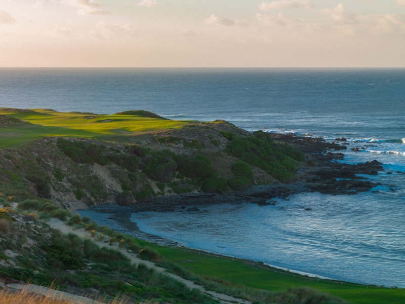 Cape Wickham Links- hole 1