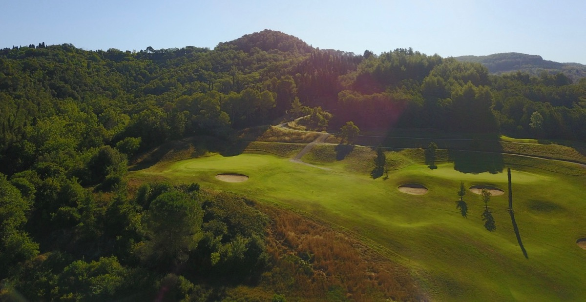 Castelfalfi- hole1 green