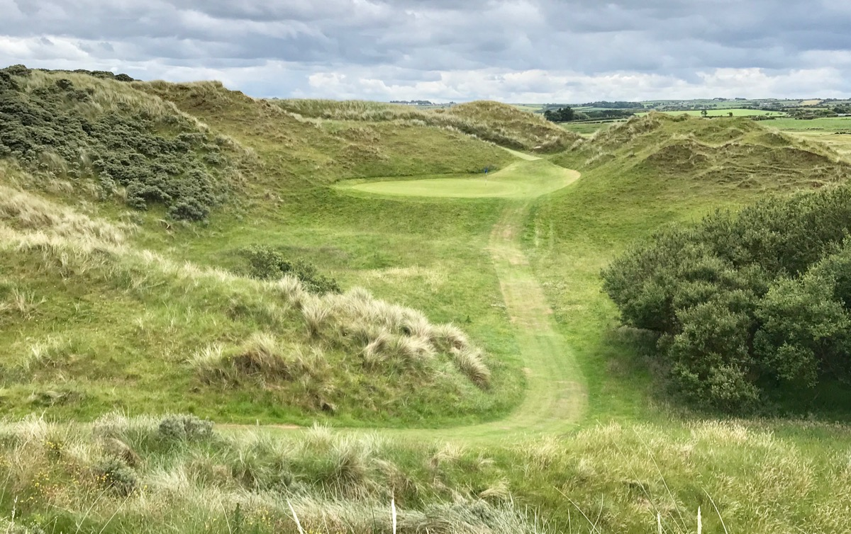 Castlerock GC- Bann Course- hole 4
