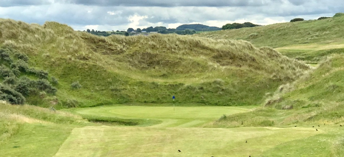 Castlerock GC- Bann Course- hole 6