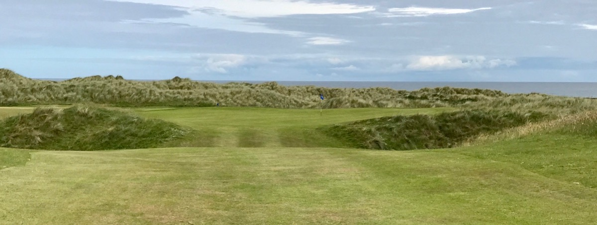 Castlerock GC- Bann Course- hole 7