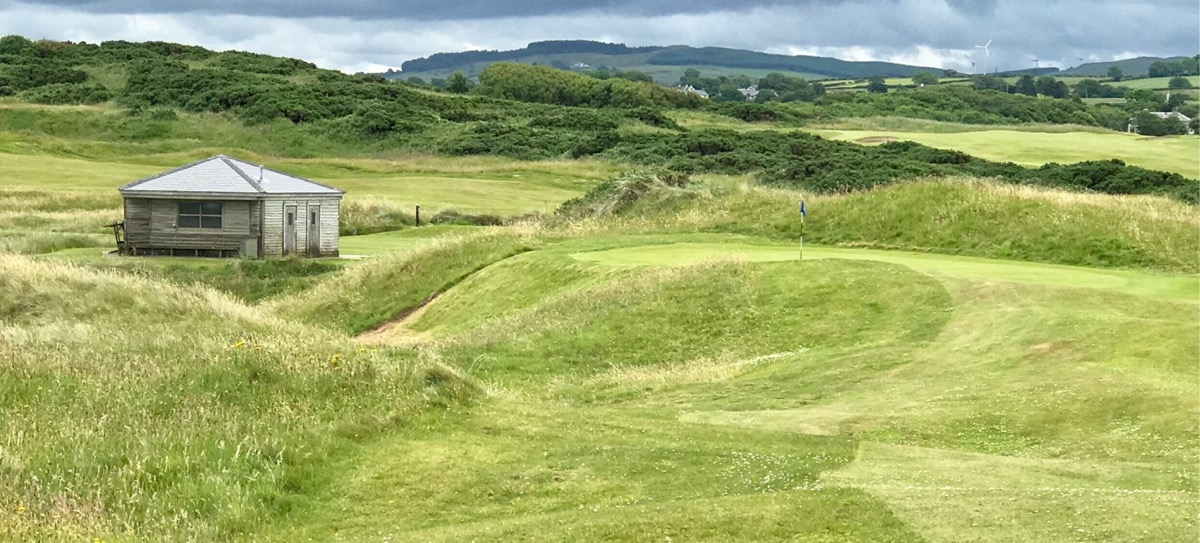 Castlerock GC- Bann Course- hole 8