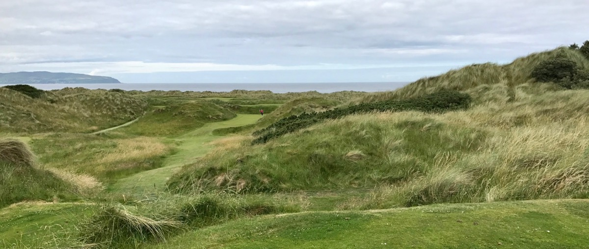 Castlerock GC- Bann Course- hole 9