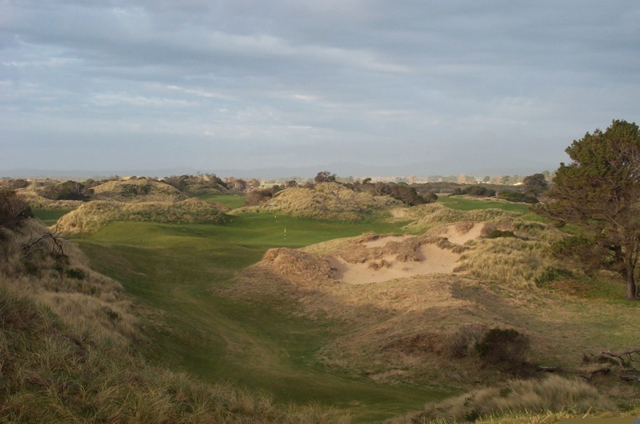 Hole 5 at Barnbougle Dunes is named 'The Turn'