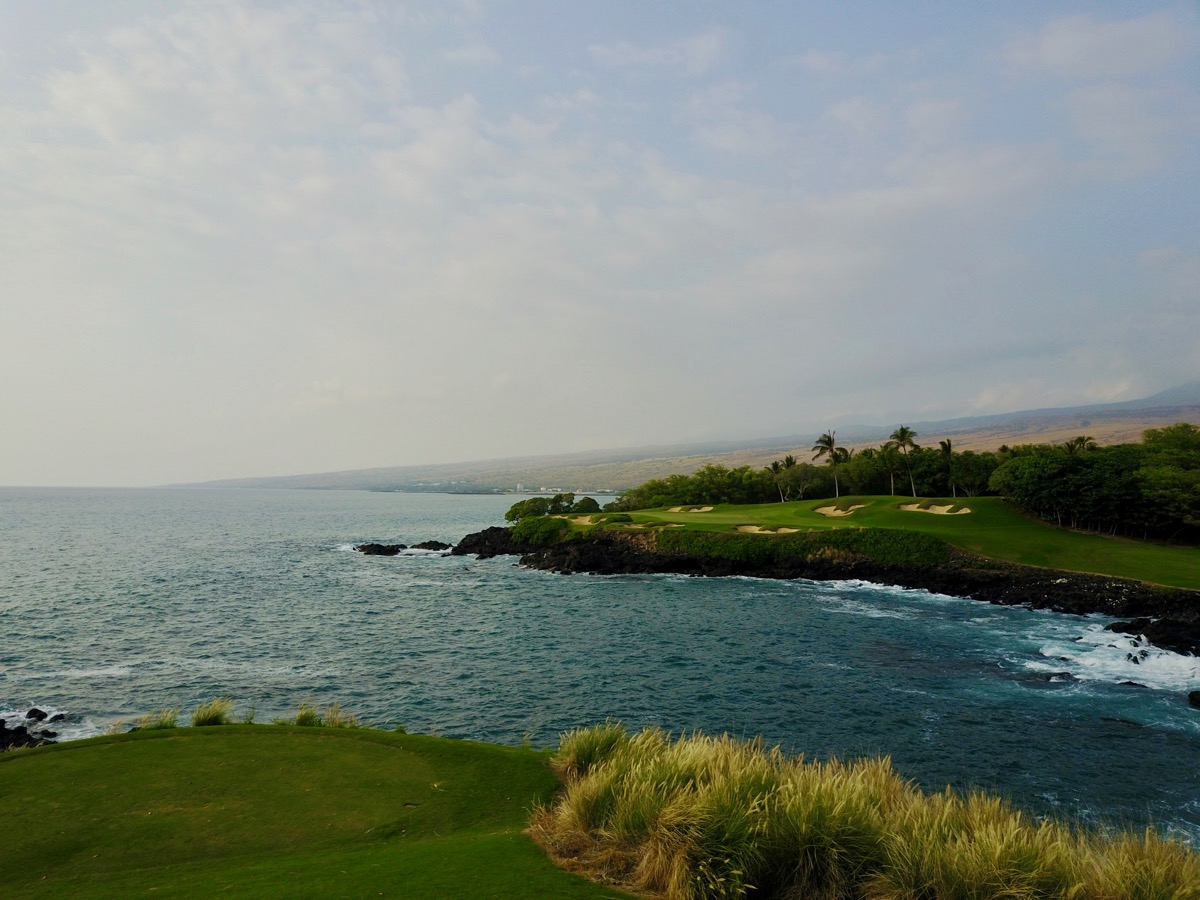 Mauna Kea GC- the famous 3rd hole