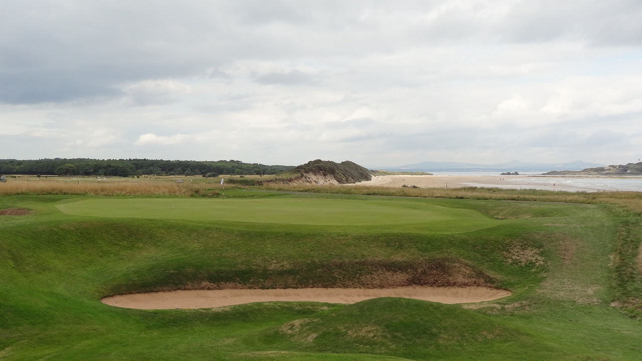 North Berwick Golf Links, East Lothian- hole 6
