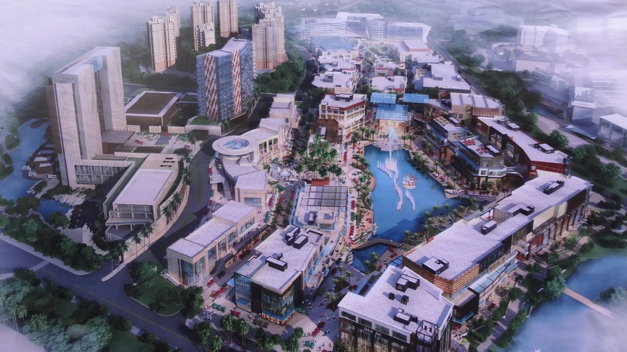 The Entertainment Precinct at Mission Hills Haikou