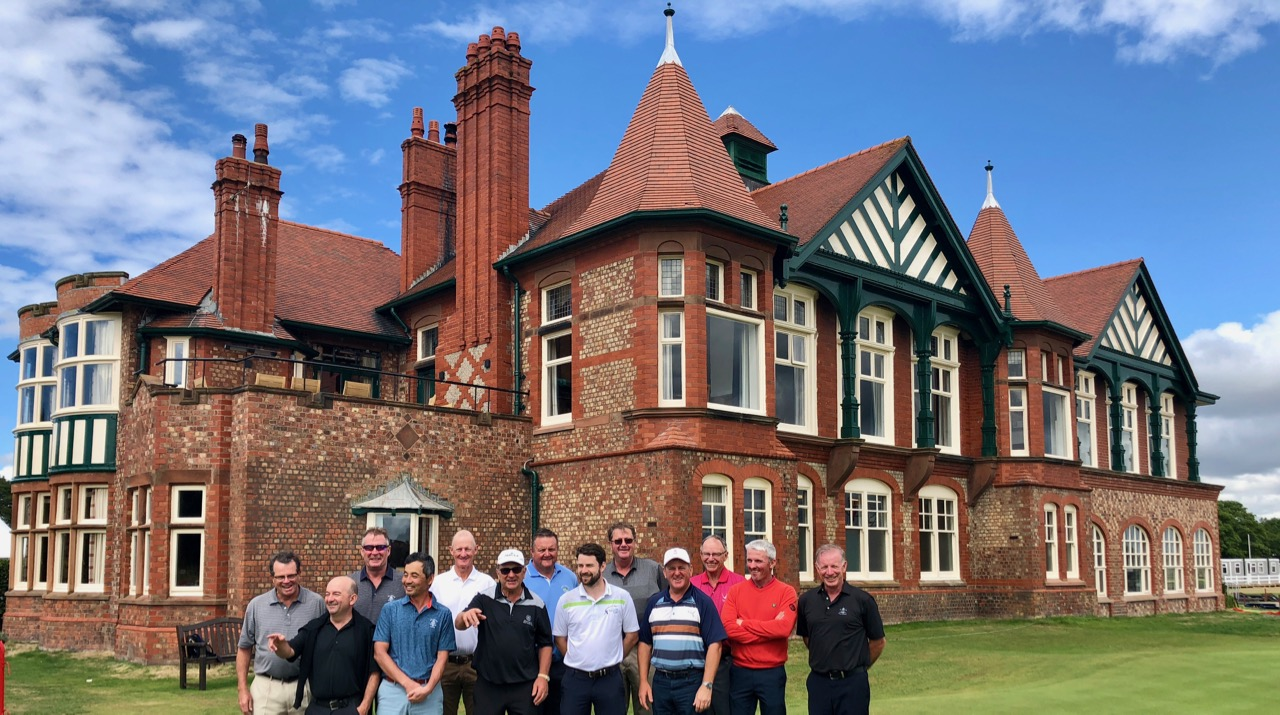 Group photo at Royal Lytham St Annes