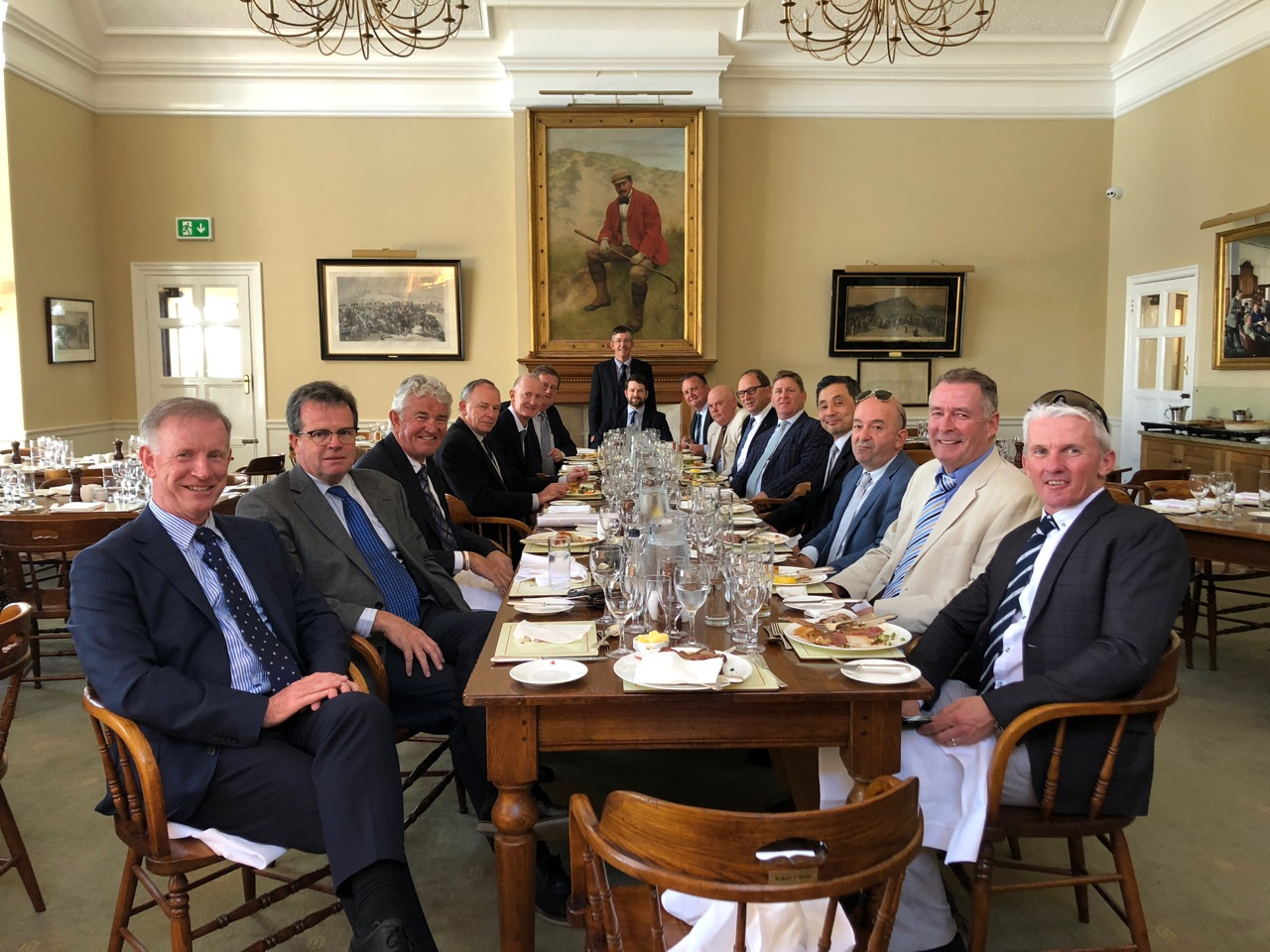 Lunch at Royal St Georges GC