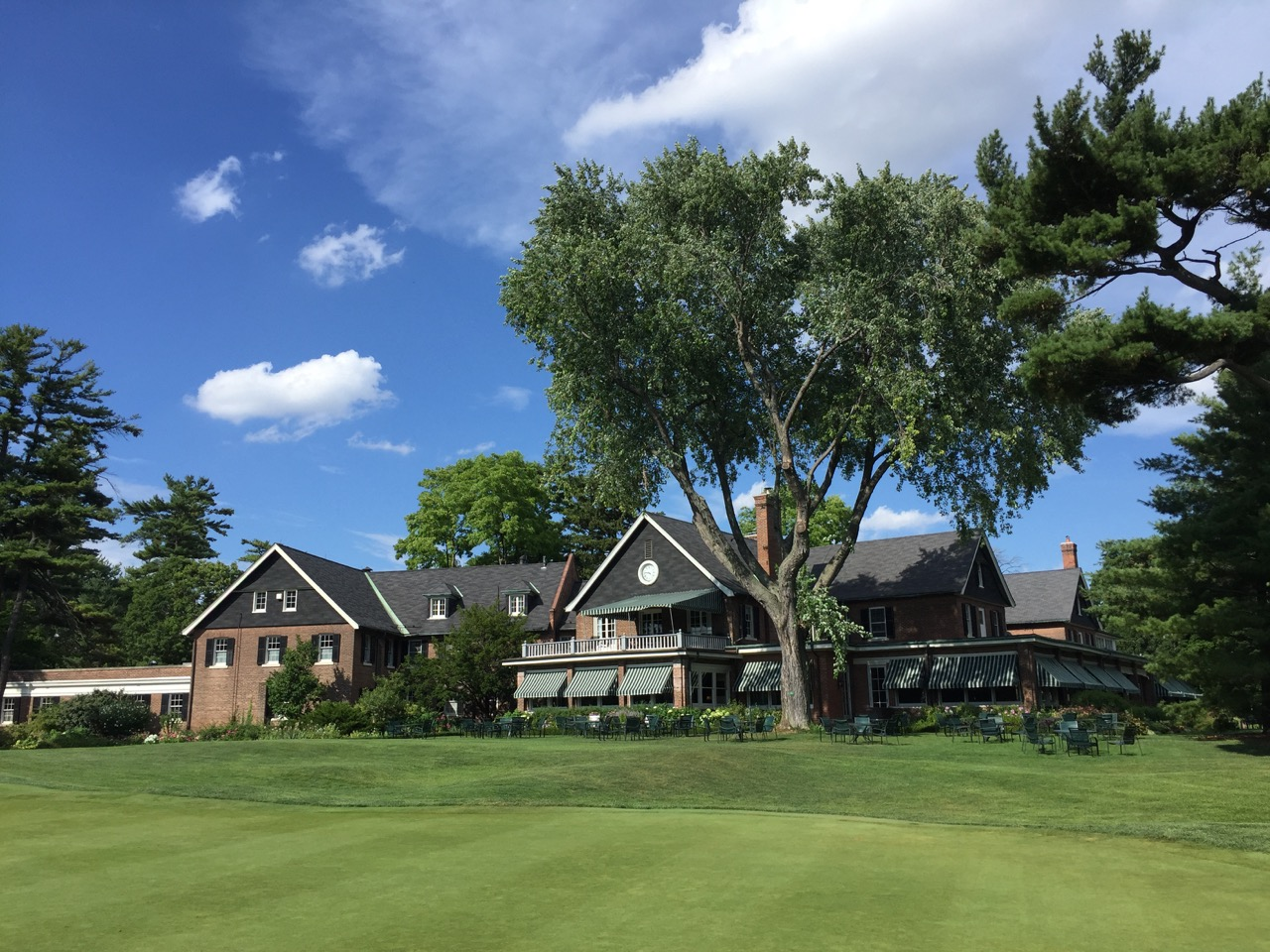 The clubhouse at Toronto GC