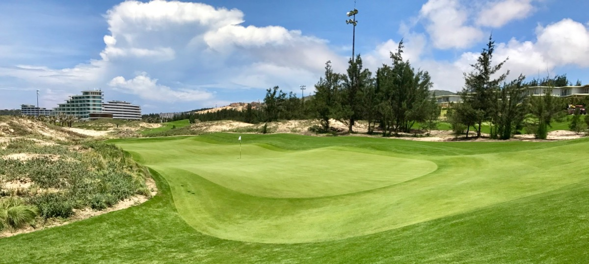 FLC Quy Nhon- Ocean Course- 17th green