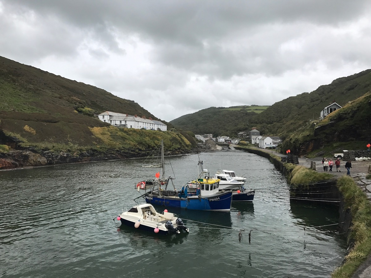 Fishing Boats at Boscastle