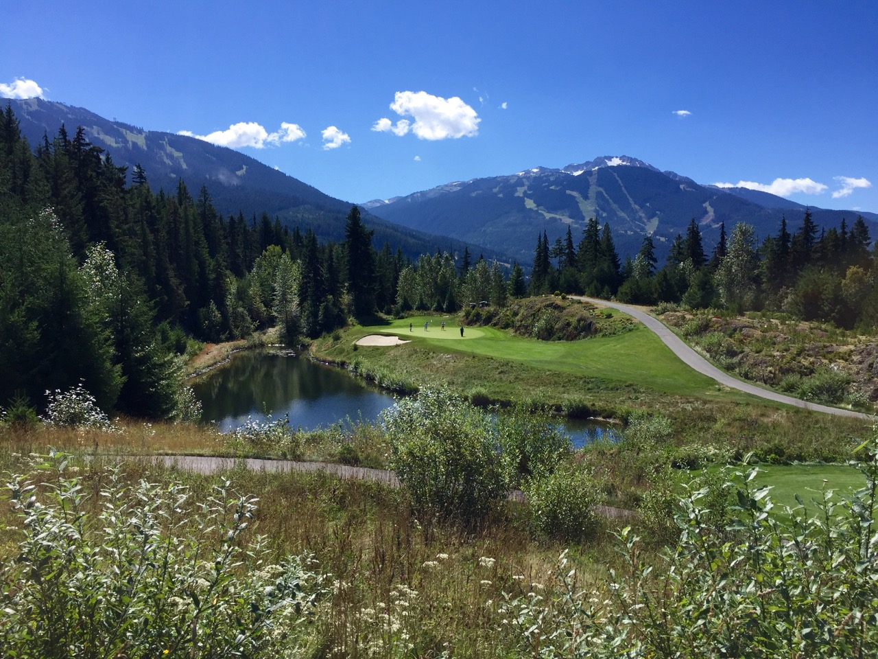 Chateau Whistler Golf Course- hole 8