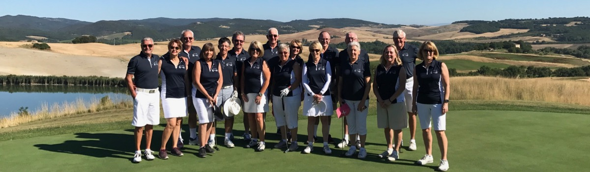 Group photo- Castiglion del Bosco GC, Italy