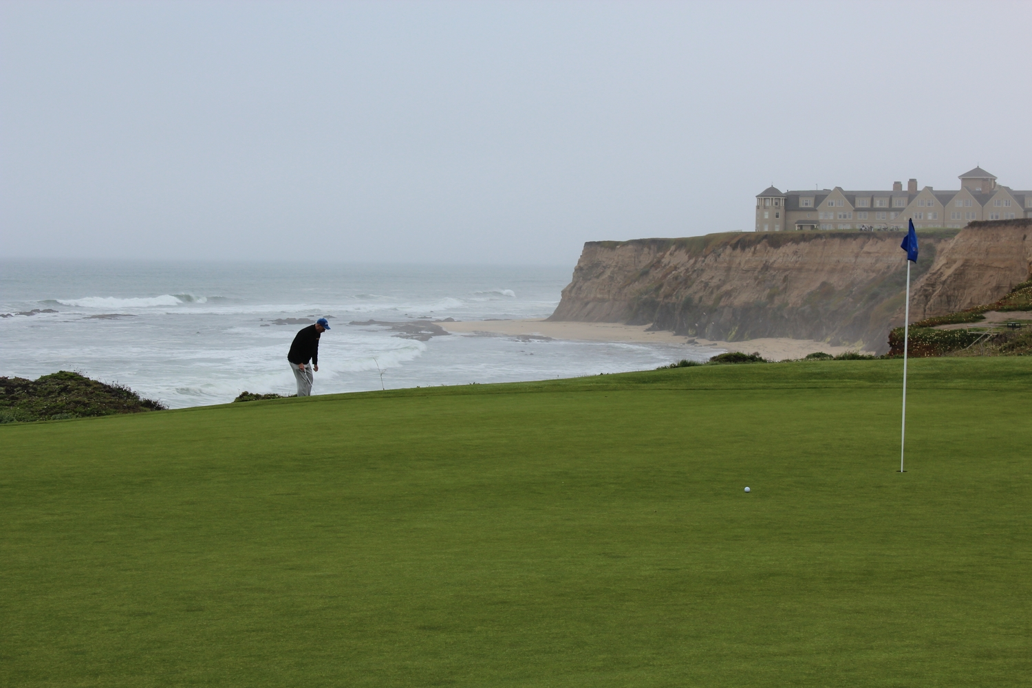 Half Moon Bay Green to Clubhouse